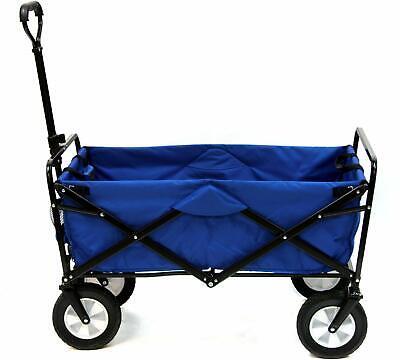Blue Folding Wagon