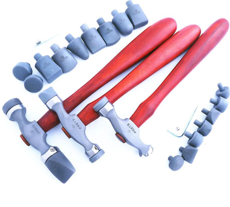 Hammer Set, Fretz Plastic Insert Set
