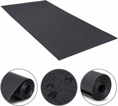 2.5'x 5'Heavy Duty Equipment Mat for Indoor Cycles Recumbent Bikes Upright Bike Exercise Mats