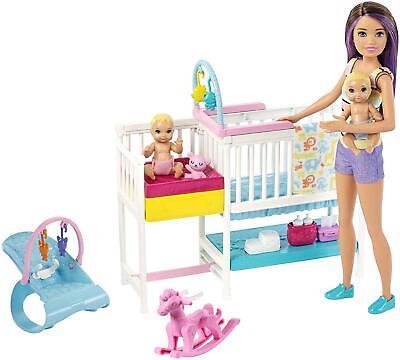 Barbie Skipper Babysitters Nap n Nurture Nursery