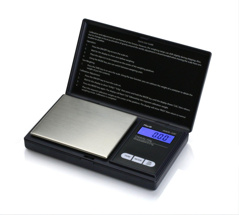 American Weigh Digital Weigh Pocket Scale 0.01-100 Grams ...