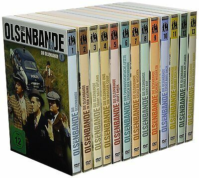 DIE OLSENBANDE komplett 1-13 REMASTERED Original DEFA Synchro DVD Collection Neu online kaufen