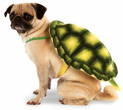 Turtle Shell Animal Funny Cute Fancy Dress Pet Shop Halloween Dog Cat Costume