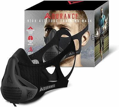 Adurance Peak Resistance Workout Training Mask High Altitude Face Air Mask