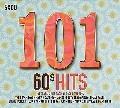 101 60's HITS 5 CD ALBUM BOX SET (New Release 2017)