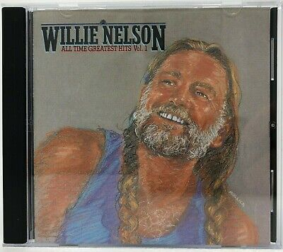 Willie Nelson Best Of CD All Time Greatest Hits Vol. 1 (Mint!) (Willie Nelson Best Hits)