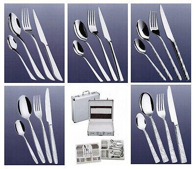 Nickel Set ( Besteckset  Besteck für 12 Personen 84 tlg.mit Koffer Chrom-Nickel-Stell 18/10 )