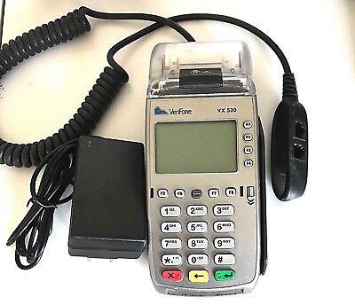 Verifone Vx520 Credit Card Terminal Pos Emv Chip Unlocked