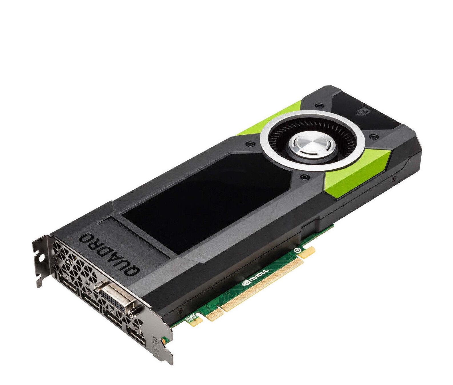 NVIDIA Quadro M5000 4K Grafikkarte 8GB 4x DP 1.2 DVI OpenCL OpenGL HDCP CUDA