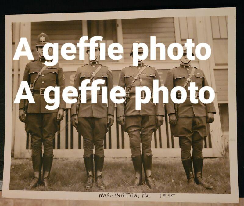 "ORIGINAL1935 PRINT, 8.5""x11"" Pennsylvania State Police Washington, PA + Others"