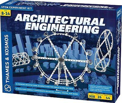 Thames & Kosmos Architectural Engineering Science Experiment Model Building - Science Experiment Kit