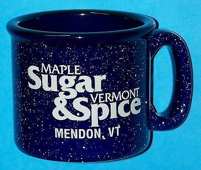 "NEW ""MAPLE SUGAR & VERMONT SPICE"", MENDON, VERMONT RESTAURANT MUG / CUP - 18 OZ."