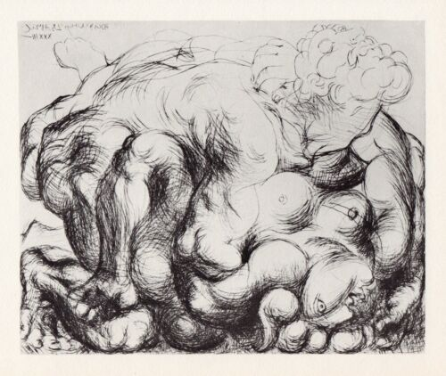 Pablo Picasso, The Embrace III (L