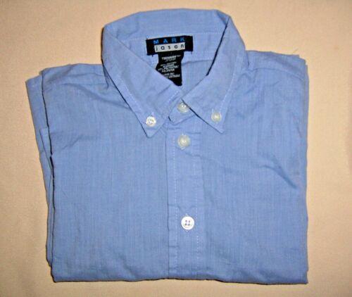 Jason Size 4T Blue Boys Dress Shirt