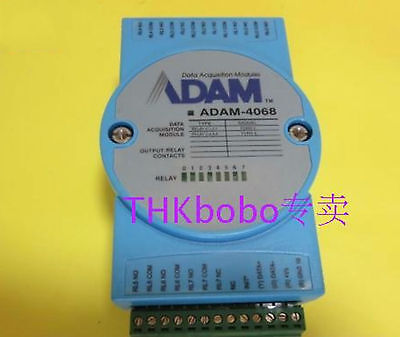 1pc Used Good Data Acquisition Modules ADAM-4068 #E-L7  GY