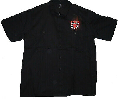 latted Jester Shield -  Worker Shirt Hemd - Größe / Size XL  (Skull Jester)