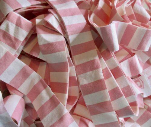 Rag Rug Yarn Precut Fabric Strips Toothbrush Amish Knot Braided Crochet 22.5 yds
