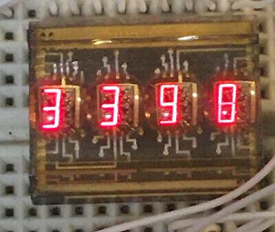 Lx Dl2416 16-segment 4 Digit Alpha-numeric Led Display Rare D-brightness