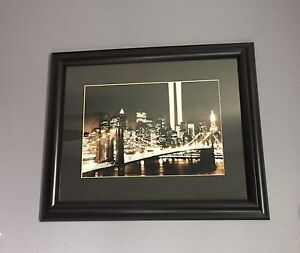 Framed Picture of New York City