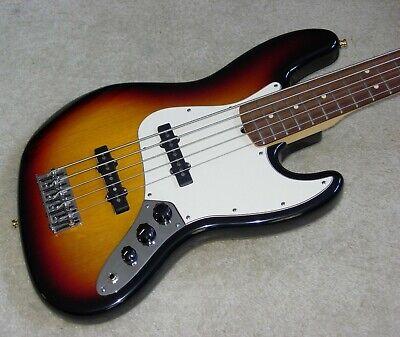 Fender American JAZZ Bass V  - 3-Color Sunburst -  RARE