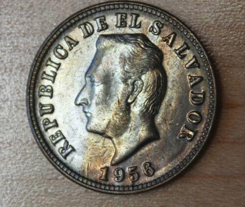 1956 El Salvador 5 Centavos