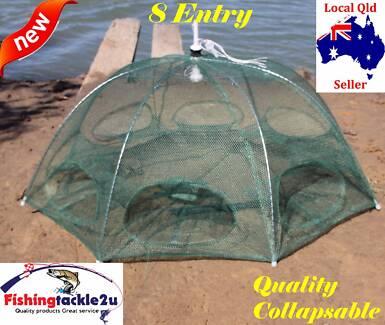 Fishing Bait Net Trap Cage Crab Fish Minnow Shrimp Mullet Crawdad