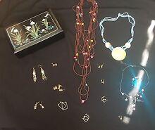 Jewelry box with jewelry Mandurah Mandurah Area Preview