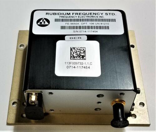 Rubidium Frequency STD FE-5650A Oscillator 15MHz output