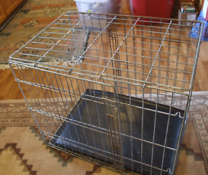 Large Galvanized Steel Animal Cage/Crate