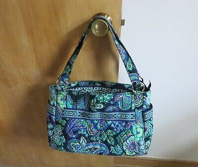 VERA BRADLEY Blue Rhapsody Quilted Purse Hand Bag