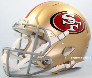 SAN FRANCISCO 49ERS - Riddell Full-Size Speed Authentic Helmet