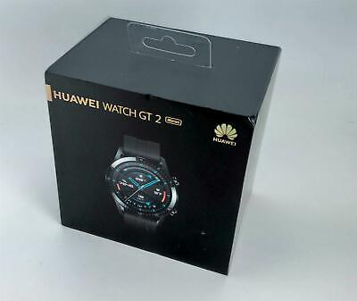 BRAND NEW HUAWEI WATCH GT 2 - LTN-B19 - GPS - SMART WATCH - MATTE BLACK