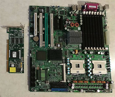 Supermicro X6DHT-G Dual Xeon Server Motherboard w/ Adaptec AAR-2020SA