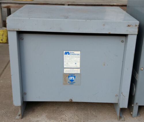 1 USED ACME T-1A-53312-3S STYLE G 30KVA LARGE GENERAL PURPOSE TRANSFORMER