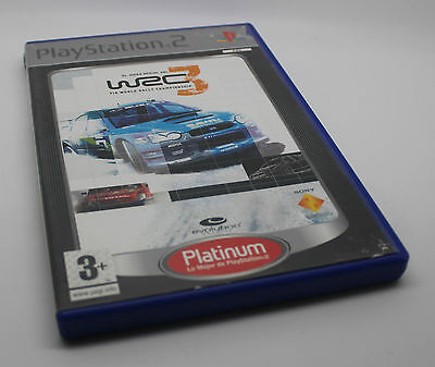 WRC 3   SONY PS2 PLAY STATION