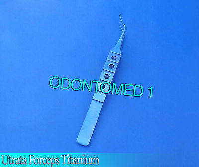 Utrata Forceps Titanium Opthalmic Instruments-odm
