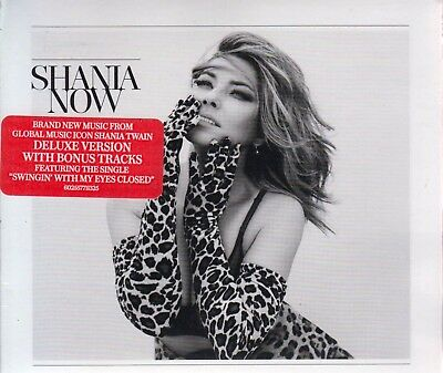 Now  Deluxe Edition   Digipak    By Shania Twain  Cd  Sep 2017  Mercury  New