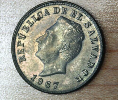 1967 El Salvador 5 Centavos
