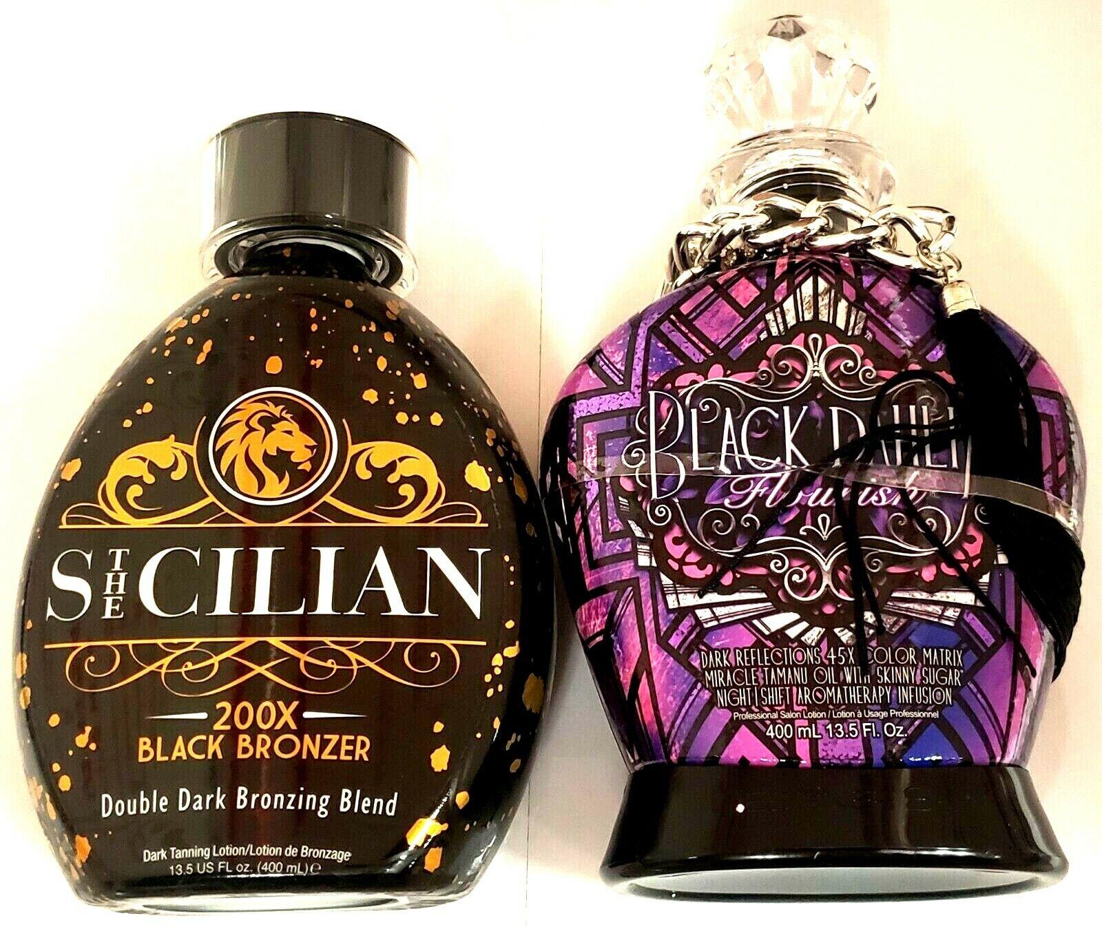 5 Sample Packets DESIGNER SKIN Black Dahlia Astonish Cherish