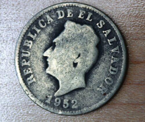 1952 El Salvador 5 Centavos