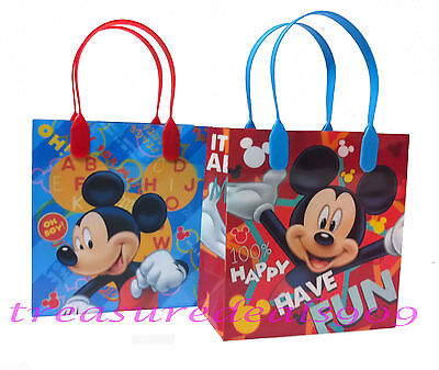 MOUSE GOODIE BAGS PARTY FAVORS CANDY LOOT TREAT BIRTHDAY BAG (Mickey Goodie Bags)