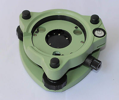 New Green Color Tribrach With Optical Pummet For Leica Total Station Surveying