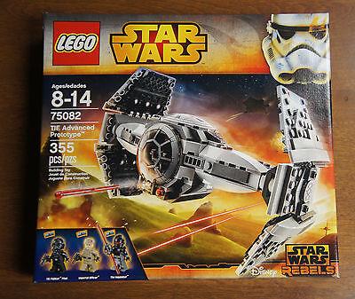 LEGO 75082 Star Wars TIE ADVANCED PROTOTYPE Boxed Set w/ Inquisitor ...