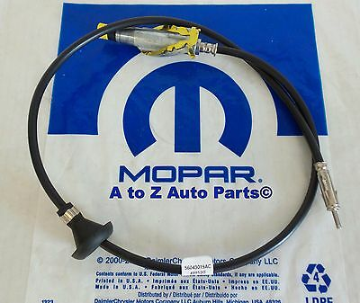 NEW 1994-2001 Dodge Ram 1500-3500,Radio Antenna Cable / Body Assembly,OEM Mopar