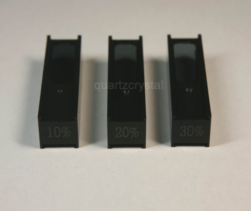 Neutral Density Filter Set in 1cm cuvette frame