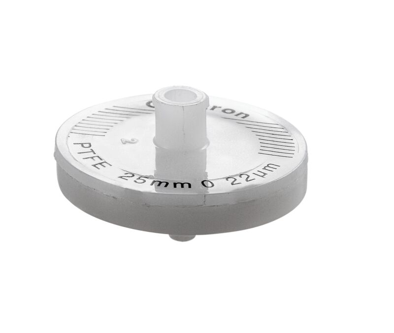 Omicron PTFE Syringe Filter Non-Sterile 25mm, 0.2um, 25/pk **Special Price**