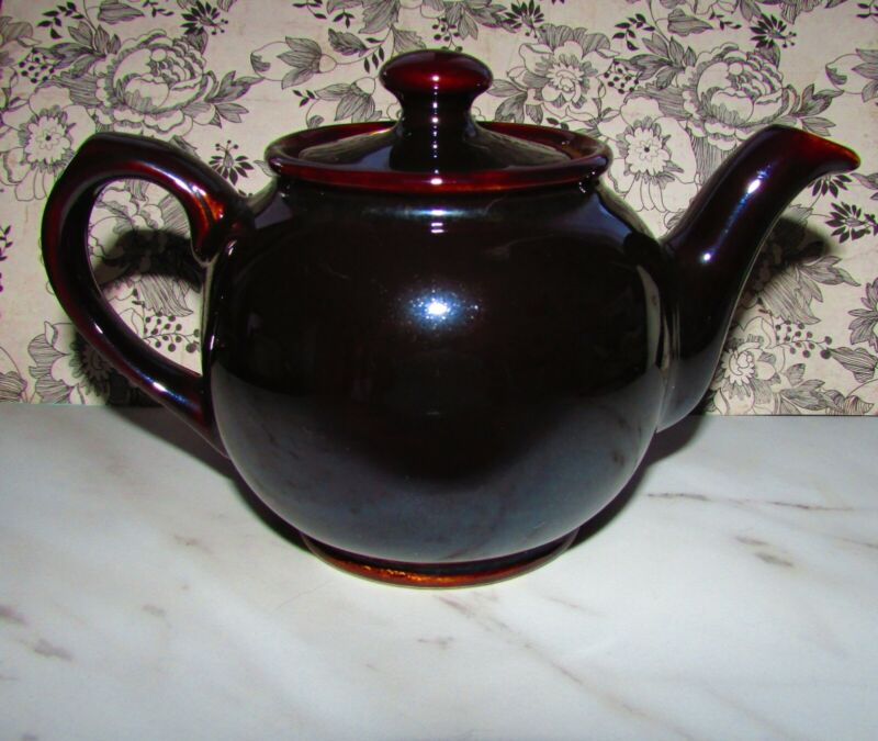 Vintage Sadler Brown Betty 2 Cup Teapot, England