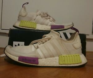 NMD R1 Chalk White US8, Great Condition!!