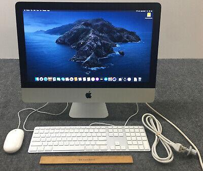 "Apple iMac13,1 A1418 MD094LL/A 21.5"" AIO i5-3470S, 8GB RAM, 256GB SSD w/Adapter"