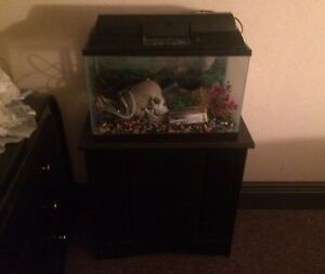 10 gal tank & stand (REDUCED)